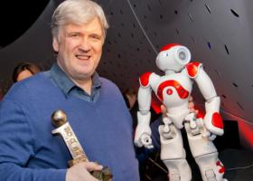 Bruno Maisonnier, PDG d'Aldebaran Robotics