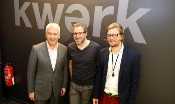 Mai 2015 - Inauguration du Kwerk, espace de co-working à Boulogne-Billancourt