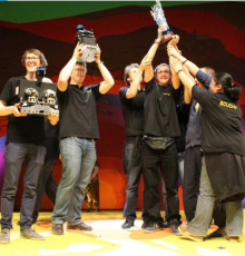 19 mai 2015 - L'IUT de Ville d'Avray remporte la coupe de France de robotique