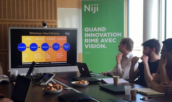 Atelier média sociaux chez Niji pour le Booster de So Digital