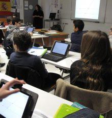 Des tablettes numériques dans les collèges