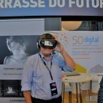 Découverte de l'oeuvre d'art numérique de Joséphine Derobe en réalité virtuelle