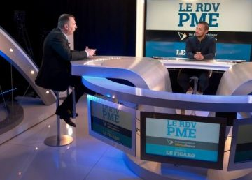 Le PDG de Hire sur le plateau du Figaro Economie
