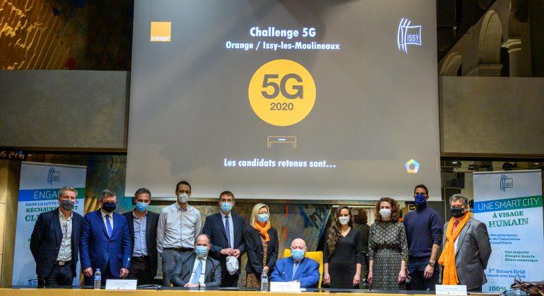 Résultats du challenge5G