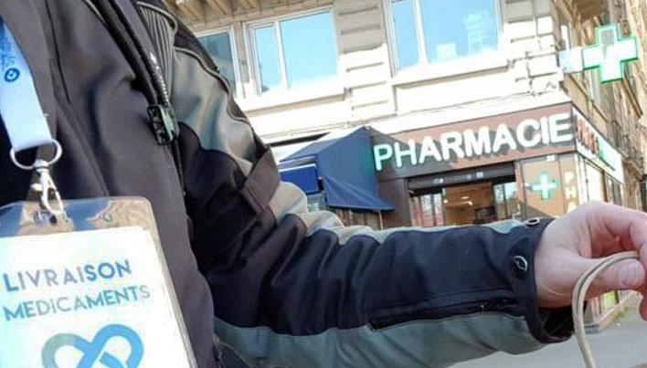 Livraison des médicaments à domicile