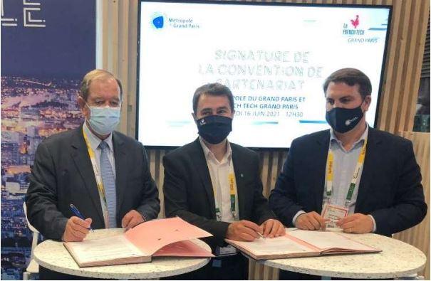 Signature de la convention French Tech Grand Paris